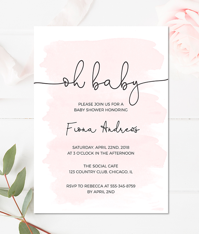 babyshower invite - Yeni.mescale.co